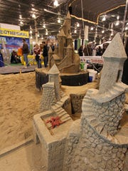 Build your own sand castles or watch the masters do it during the Cottage and Lakefront Living show in Nov.