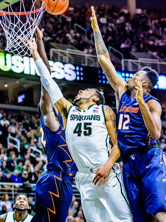 MSU vs Illinois Mens Basketball