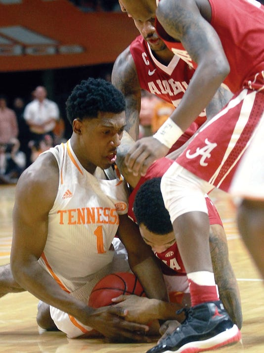 TENNESSEE VS ALABAMA BASKETBALL