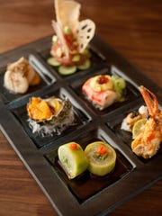 At the original ShinBay, chef Shinji Kurita's tasting