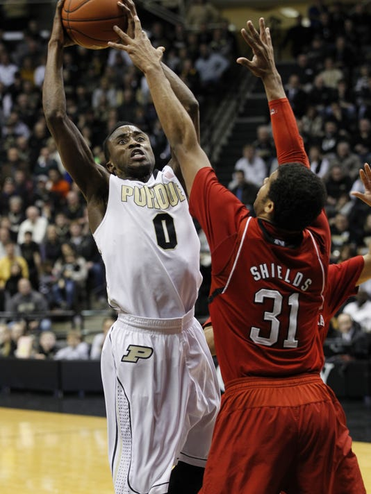 LAF Purdue men's basketball gamer Nebraska