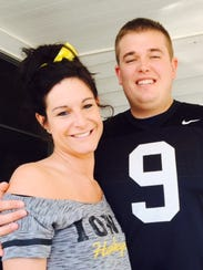 Stacy Henson and Nathan Muench will celebrate their
