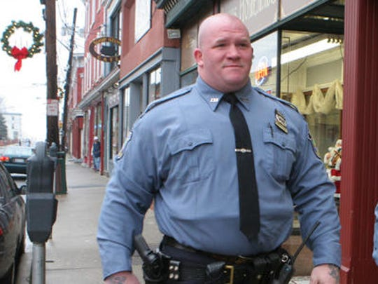 Gerard Benderoth, a Haverstraw police officer and strongman