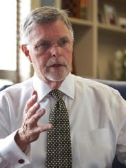 Oakland University President George Hynd talks about