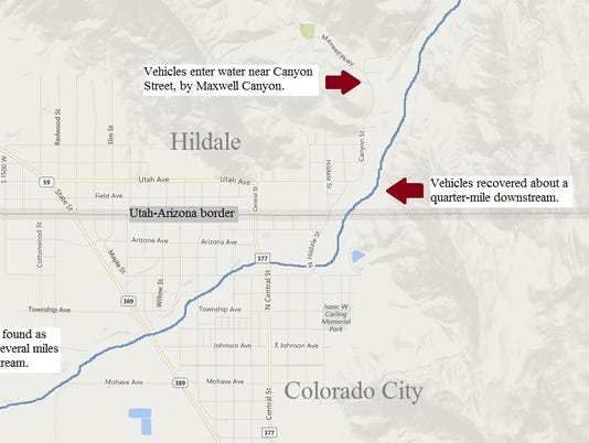 Colorado City Utah Map.12 Dead One Missing In Hildale Flood