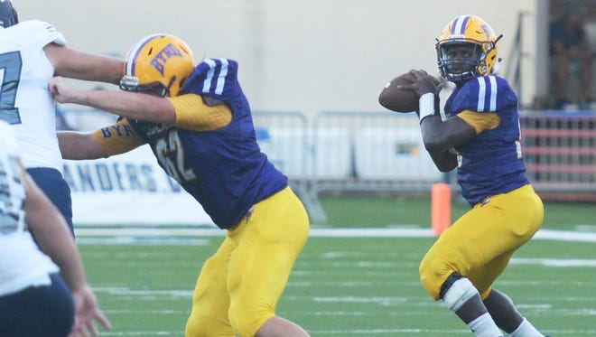 Byrd and Captain Shreve will open District 1-5A play on Thursday at Lee Hedges Stadium