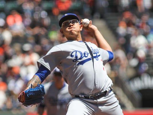 USP MLB: LOS ANGELES DODGERS AT SAN FRANCISCO GIAN S BBN SF LAD USA CA