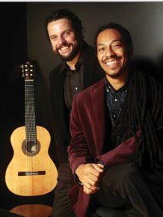 DSO Brazilian guitarists João Luiz and Douglas Lora