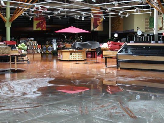 Hurricane Irma put the Winn-Dixie supermarket on the
