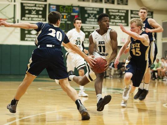 Essex vs. Rice Boys Basketball 12/22/15