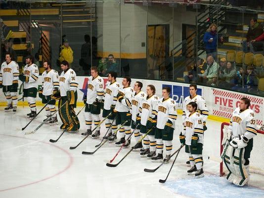 St. Lawerance vs. Vermont Men's Hockey 12/12/14