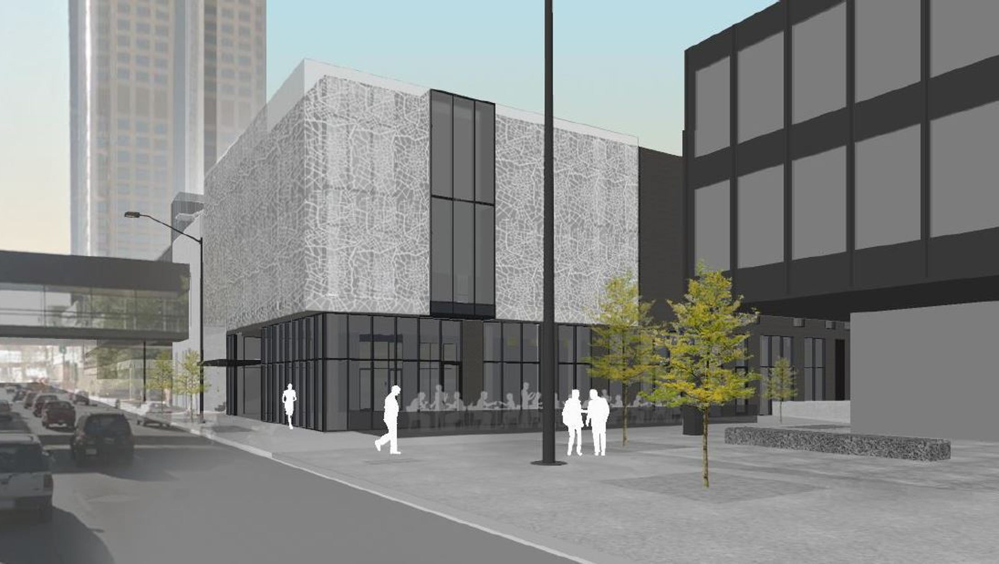 Miesblock Gives Nod To Downtown Des Moines Architectural Gem