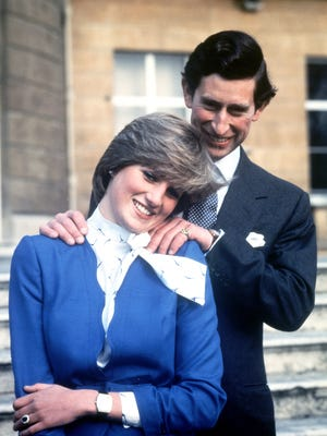 In 1981, Prince Charles and then-Lady Diana Spencer released this engagement photo.