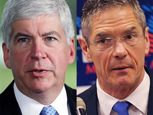 Michigan governor's race