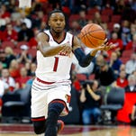 U of L's Hicks' ankle sore but improving