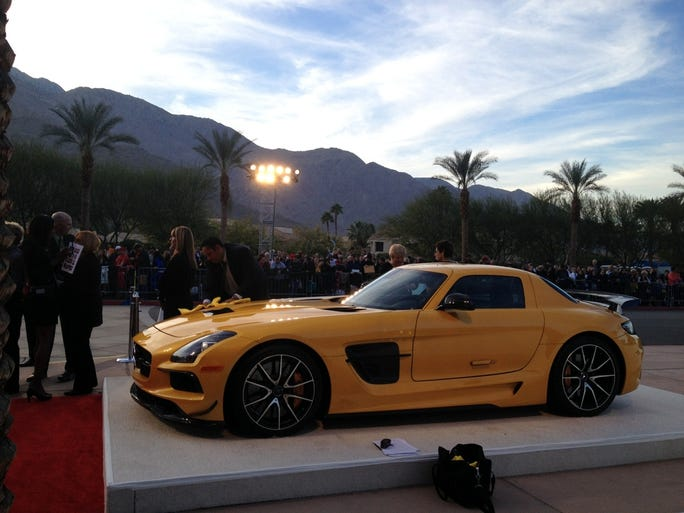 mercedes benz sls amg wows palm springs film festival. Cars Review. Best American Auto & Cars Review