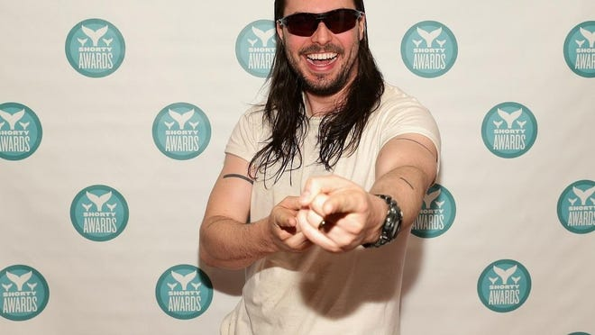 Andrew WK will perform on March 25 at the Fountain Square Theatre.