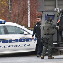 Standoff ends in Anderson after police use Taser