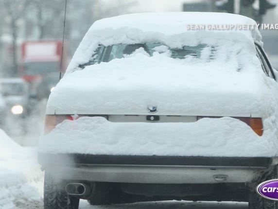 Learn how to safely remove whatever the winter weather leaves on your car for great visibility.