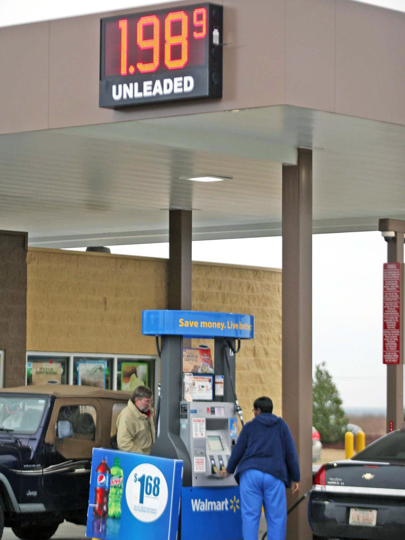 Walmart Gas Prices Near Me >> Walmart Taking Over Development Of Its Gas Stations