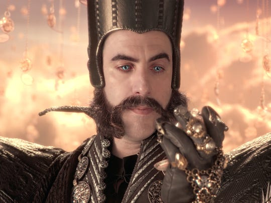 """Sacha Baron Cohen is Time in  """"Alice Through the Looking Glass."""""""