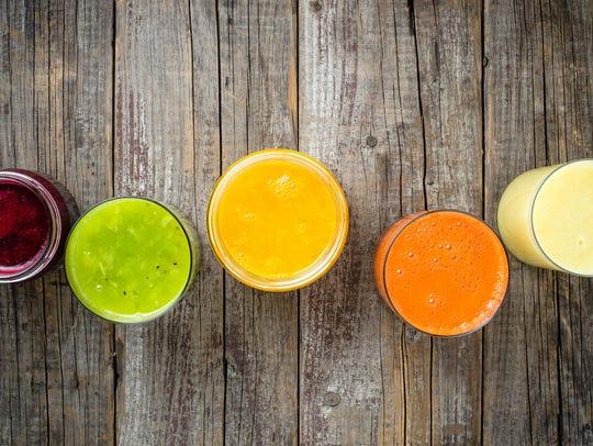 Fresh juice.