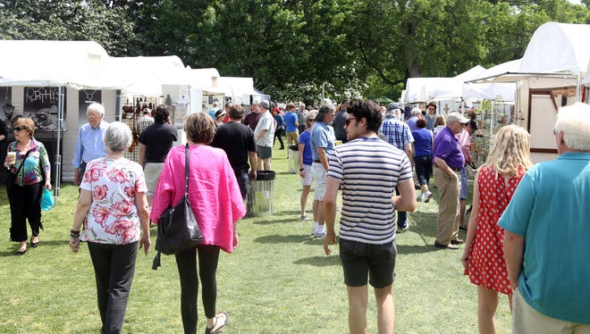 The spring Tennessee Craft Fair will take over Centennial Park this weekend with more than 200 artists.