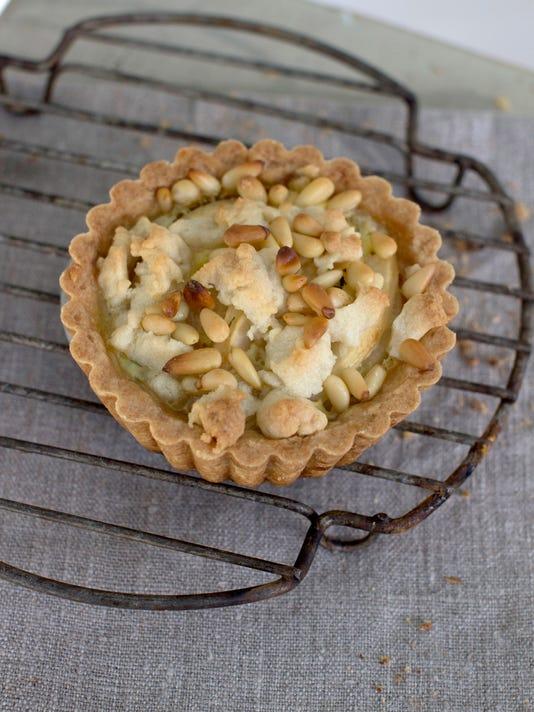 Food Fall Baking Pear Tart