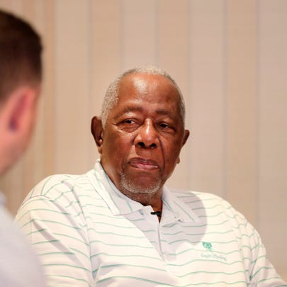 Baseball great Hank Aaron on the early love affair