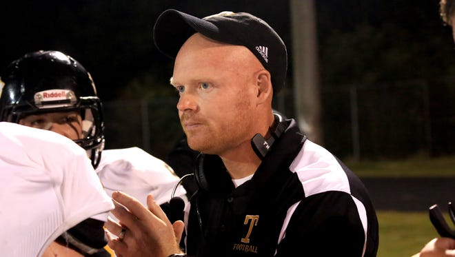 Former Tuscola football coach Brandon Allen.