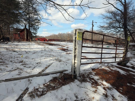 A former horse farm property on North Main Street in