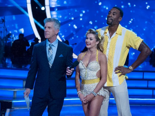 The eight remaining celebrities will dance to some