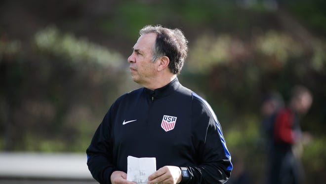 The U.S. plays Serbia in the first match of Bruce Arena's second tenure.