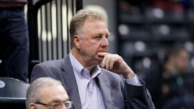 Pacers president Larry Bird has his work cut out for him this offseason.