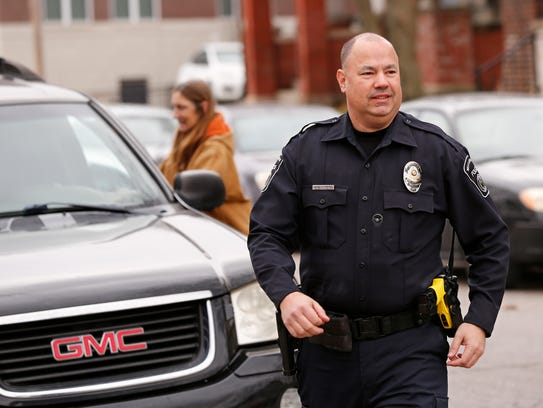 Officer Bill Dearing of West Lafayette Police Department