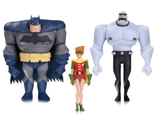 "Get ready for a ""Tales of the Dark Knight"" toy set"