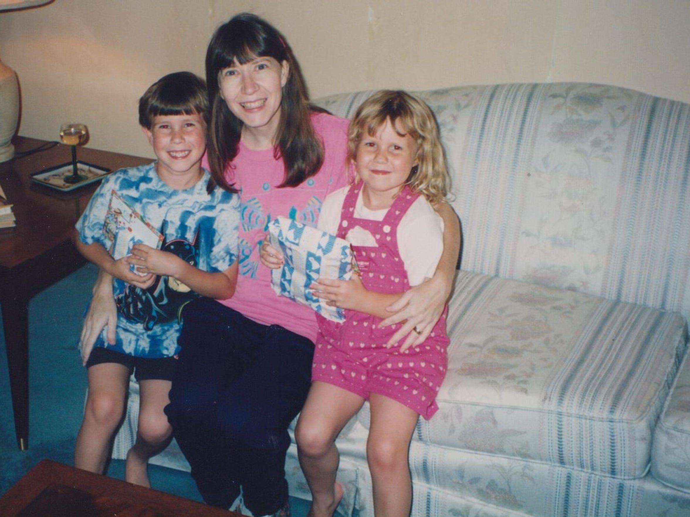 Ben Decker, Lynne Decker and Beth Decker pose for a