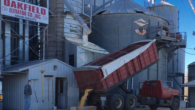 With the colder than normal temperatures, very little field drying will occur during November or December. So, just what are farmers' options for drying corn this year?