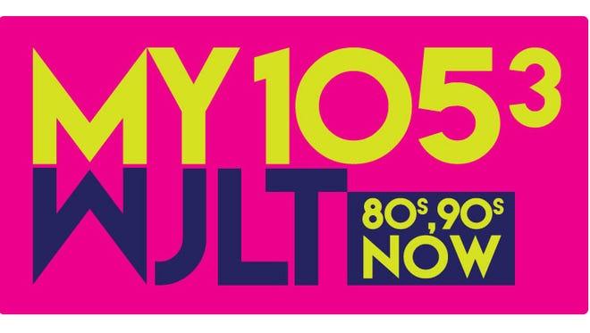 105.3-WJLT's new logo.