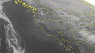 NOAA satellite image taken Tuesday, Feb. 17.