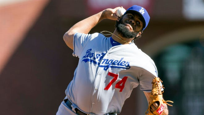 Kenley Jansen's $80 million contract is second only to Aroldis Chapman's $86 million among relievers.