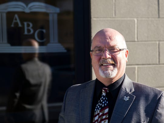 Doug Stauffer is the pastor of Antioch Baptist Church in North Knoxville.