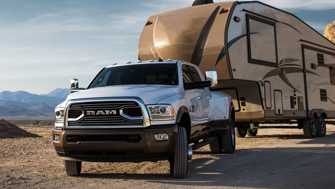 The 2018 Ram 3500 Heavy Duty pickup promises to deliver 930 pound-feet of torque.