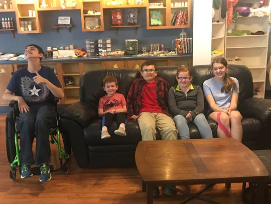 Backpack Buddies is a service group started by four