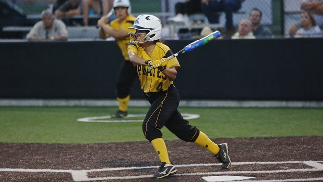 Southwestern shortstop and King grad Celeste Silvas has become one of the team's top hitters this season.