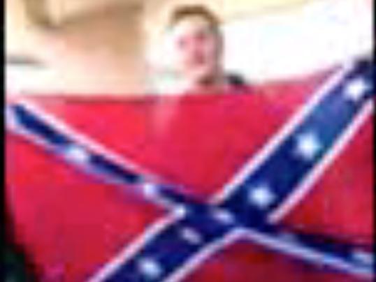 National Walkout Day confederate flag screengrab.png