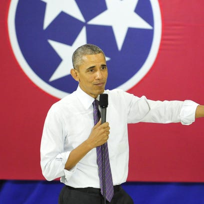 President Barack Obama speaks about health care at