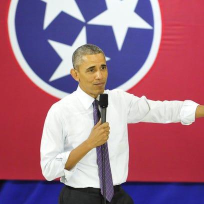 President Barack Obama speaks about health care at