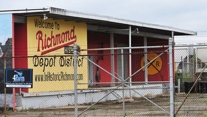 The former Mechanics Laundry building on North E Street in Richmond is one of the sites that will be assessed for possible contamination through a grant from the U.S. Environmental Protection Agency.