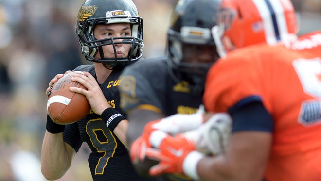 Quarterback Nick Mullens and Southern Miss look to earn a road win at Rice on Saturday.